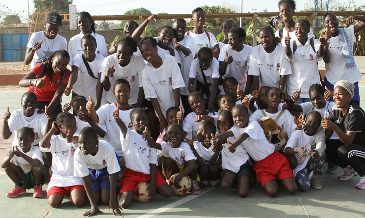 GFF Observes Intnl Sports Day With SOS Children on Girls Festival